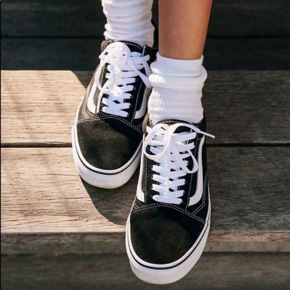 old fashioned vans shoes